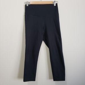 Zella cropped black leggings nwot s